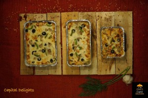 Lasagna by Capital Delights. Image credits: Capital Delights